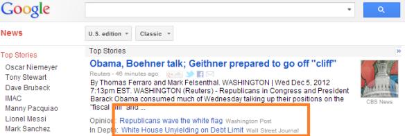 Google News 120512
